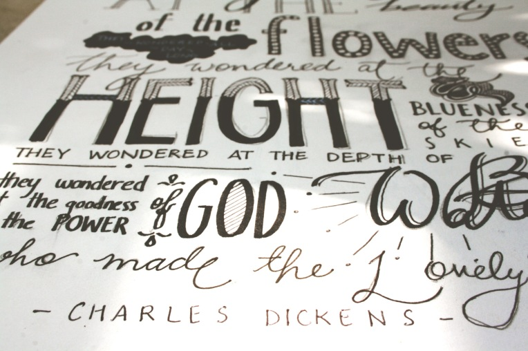 typography charles dickens